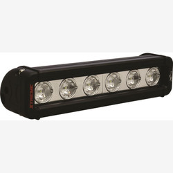 "Vision X 9"" XMITTER LOW PROFILE BLACK 6 5W LED'S 10 NARROW"