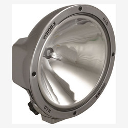 "Vision X 8.7"" ROUND CHROME 35 WATT HID SPOT LAMP"
