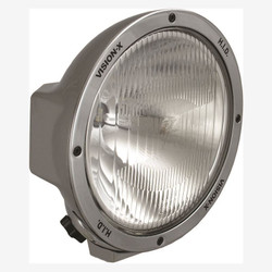 "Vision X 8.7"" ROUND CHROME 35 WATT HID EURO LAMP"