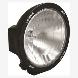 "Vision X 8.7"" ROUND BLACK 50 WATT HID EURO LAMP"