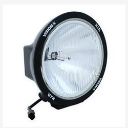"Vision X 8.7"" ROUND BLACK 35 WATT HID EURO LAMP"