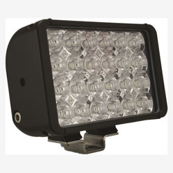 "Vision X 8"" XMITTER DOUBLE BAR BLACK 24 3W LED'S FLOOD"