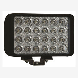"Vision X 8"" XMITTER DOUBLE BAR BLACK 24 3W LED'S EURO"