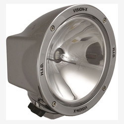 "Vision X 6.7"" ROUND CHROME 35 WATT HID SPOT LAMP"