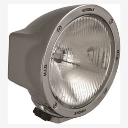 "Vision X 6.7"" ROUND CHROME 35 WATT HID EURO LAMP"