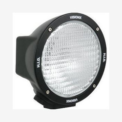 "Vision X 6.7"" ROUND BLACK 50 WATT HID FLOOD LAMP"