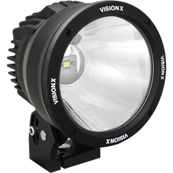 "Vision X 6.7"" CANNON BLACK 1 50W LED 10 Degree NARROW"