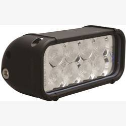 "Vision X 6"" XMITTER LED BAR BLACK 8 3W LED'S FLOOD"
