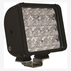 "Vision X 6"" XMITTER DOUBLE BAR BLACK 16 3W LED'S EURO"