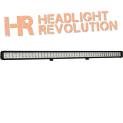 "Vision X 50"" XMITTER PRIME XTREME LED BAR BLACK 90 5W LED'S 40° BEAM"