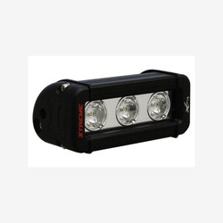 "Vision X 5"" XMITTER LOW PROFILE XTREME BLACK 3 5W LED'S 10° NARROW"