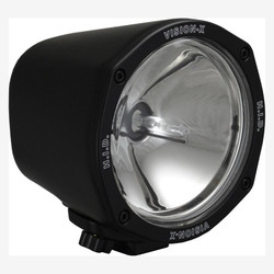 "Vision X 5"" ROUND BLACK 35 WATT HID SPOT LAMP"