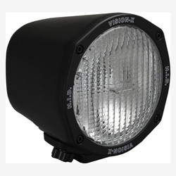 "Vision X 5"" ROUND BLACK 35 WATT HID FLOOD LAMP"