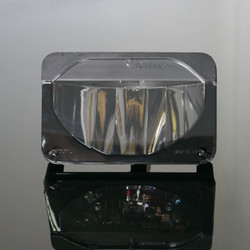 "Truck-Lite 27645C 4x6"" High Beam LED Headlight Housing"