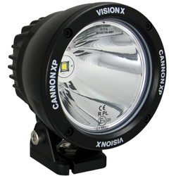 "Vision X 4.5"" CANNON BLACK 1 25W LED 10 Degree NARROW"