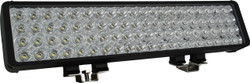 "Vision X 22"" XMITTER DOUBLE BAR BLACK 80 3W LED'S FLOOD"