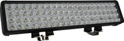 "Vision X 22"" XMITTER DOUBLE BAR BLACK 80 3W LED'S FLOOD"