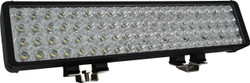 "Vision X 22"" XMITTER DOUBLE BAR BLACK 80 3W LED'S EURO"