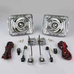 STARR HID XP7002C Bi-Xenon Chrome Projector Headlights Kit 2005 - 2010 Hummer H3