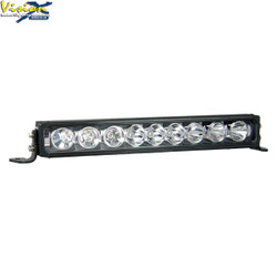 "Vision X 19"" XPR 10-WATT LIGHT BAR 9 LED TILTED OPTICS FOR MIXED BEAM"