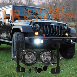 Vision X 13-15 JEEP JK X FOG LIGHT KIT WITH XIL-OPRH115