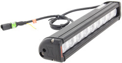 "Vision X 12"" XMITTER LOW PROFILE XTREME BLACK 9 5W LED'S 10° NARROW"