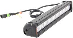 "Vision X 12"" XMITTER LOW PROFILE XTREME BLACK 9 5W LED'S 10° NARROW"