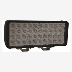 "Vision X 12"" XMITTER DOUBLE BAR BLACK 40 3W LED'S FLOOD"