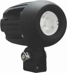 "Vision X 1.7"" MINI SOLO BLACK 5-WATT LED POD 60 DEGREE XTRA WIDE BEAM"