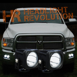 Vision X 09-14 DODGE RAM 2500/3500 FOG LIGHT KIT WITH XIL-OP110KIT