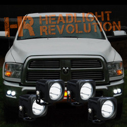Vision X 09-14 DODGE RAM 2500/3500 FOG LIGHT KIT WITH XIL-OP110 and 20
