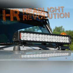 Vision X 07-13 JEEP JK HOOD LIGHT BAR MOUNT W/ XIL-400