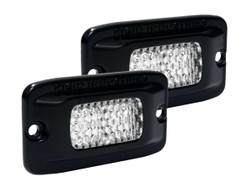 Rigid Industries 980013 SR-M Diffused Flush Mount Back-Up Light Kit