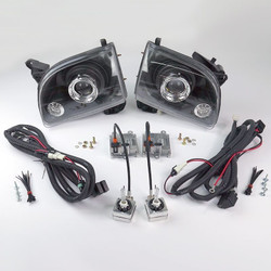 Starr HID XP3018B Bi-Xenon Black Projector Headlights Kit 2001 - 2004 Toyota Tacoma