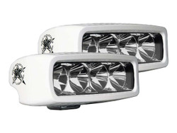 Rigid Industries 945113 M-Series Marine SR-Q LED Floodlight; White - Pair