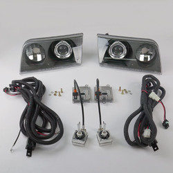 Starr HID XP3017B Bi-Xenon Black Projector Headlights Kit 1998 - 2011 Ford Crown Victoria