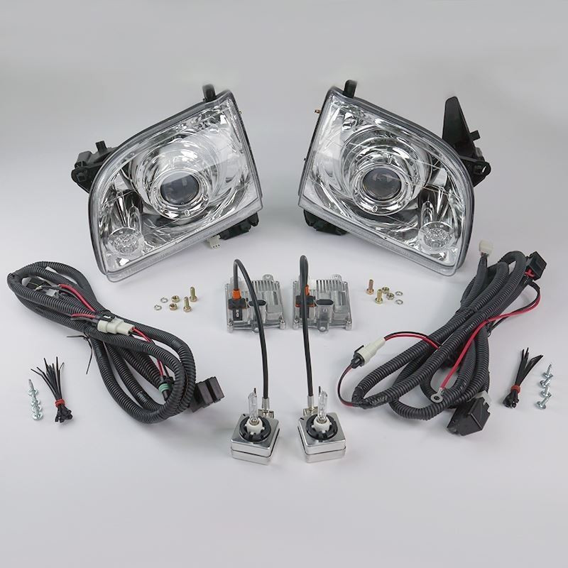Starr hid xp3018c bi xenon chrome projector headlights kit 2001 starr publicscrutiny Image collections