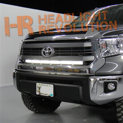 2014 2017 toyota tundra stealth mount led light bar behind vehicle specific aloadofball