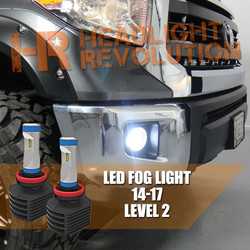 2014 - 2017 Toyota Tundra LED Fog Light Bulb Upgrade - LEVEL 2 - GTR Lighting Ultra Series