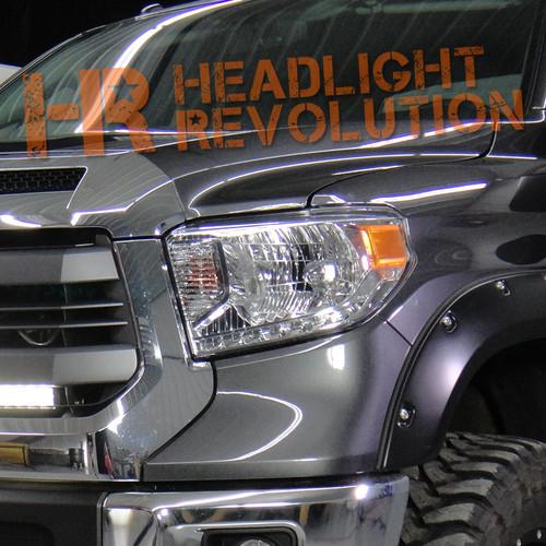 2014 2017 toyota tundra led front blinkers kit headlight revolution rh headlightrevolution com Headlight Plug Wiring Diagram Four Headlight Wiring Diagram