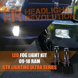 LED Fog lights for the 2017 ram truck