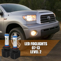 2007 - 2013 Toyota Tundra FOG LIGHT LED Bulbs Upgrade - LEVEL 2 GEN 3 Ultra Series