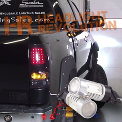 2007 - 2013 Toyota Tundra LED Rear Blinker Bulbs Kit