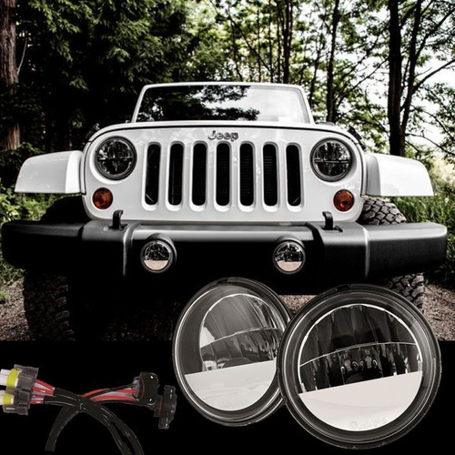 2007 2017 Jeep Wrangler Jk Led Fog Light Kit Truck
