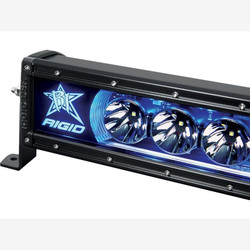 """Rigid Industries 22001 20"""" Radiance Backlight Light Bar; Blue"""
