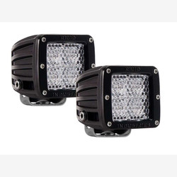 Rigid Industries 202513 D-Series PRO | Flood Diffused | Pair