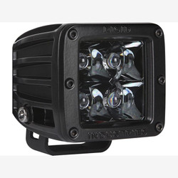 Rigid Industries 20121BLK D-Series Midnight Edition Black Spot Optic