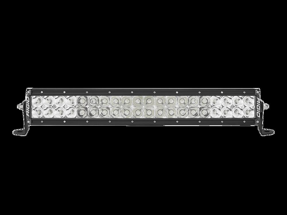 Rigid industries 120313 e series 20 led spotflood combo light bar rigid industries aloadofball Image collections
