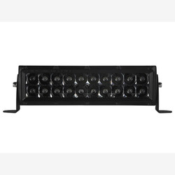 "Rigid Industries 110212BLK E-Series Midnight Edition Black 10"" Spot Optic Light Bar"