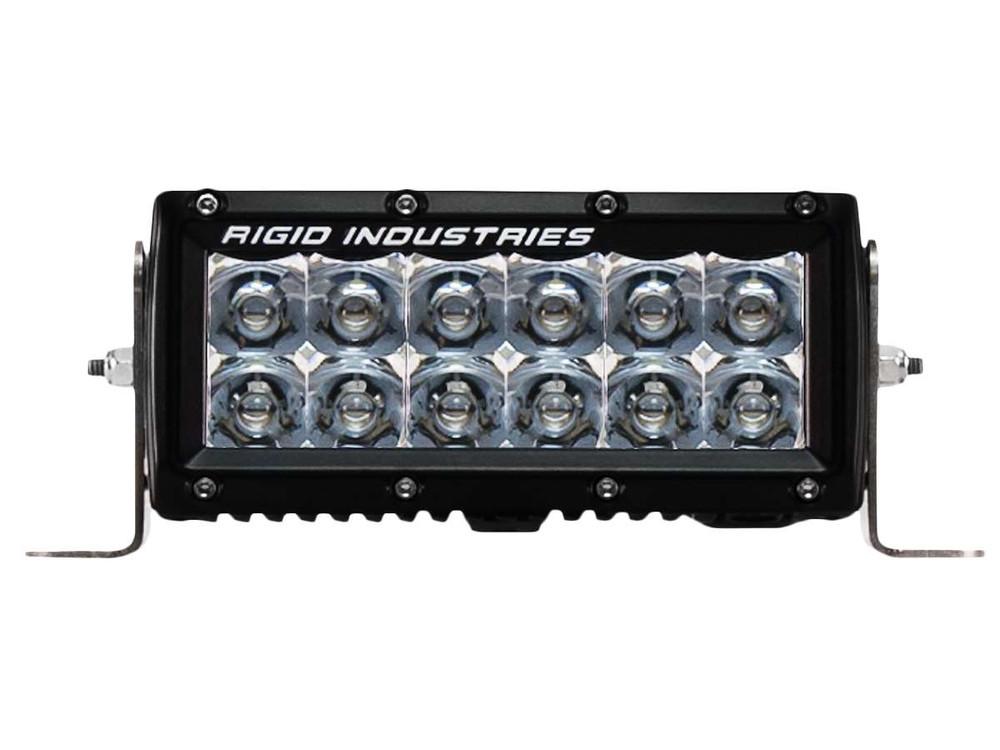 Rigid industries 106213 e series amber 6 led spot light bar rigid industries aloadofball Choice Image